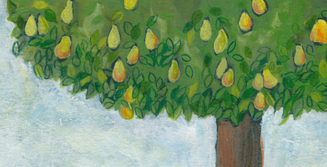 Pears Poem Illustration