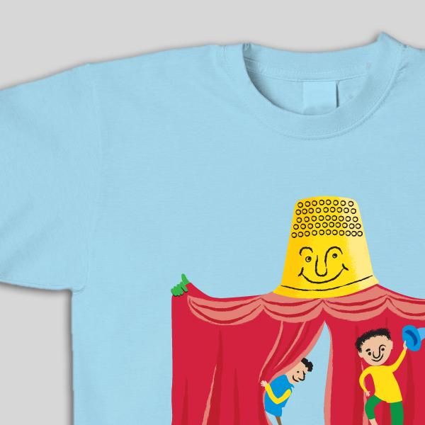 עיצוב לוגו ותדמית לתיאטרון אצבעון