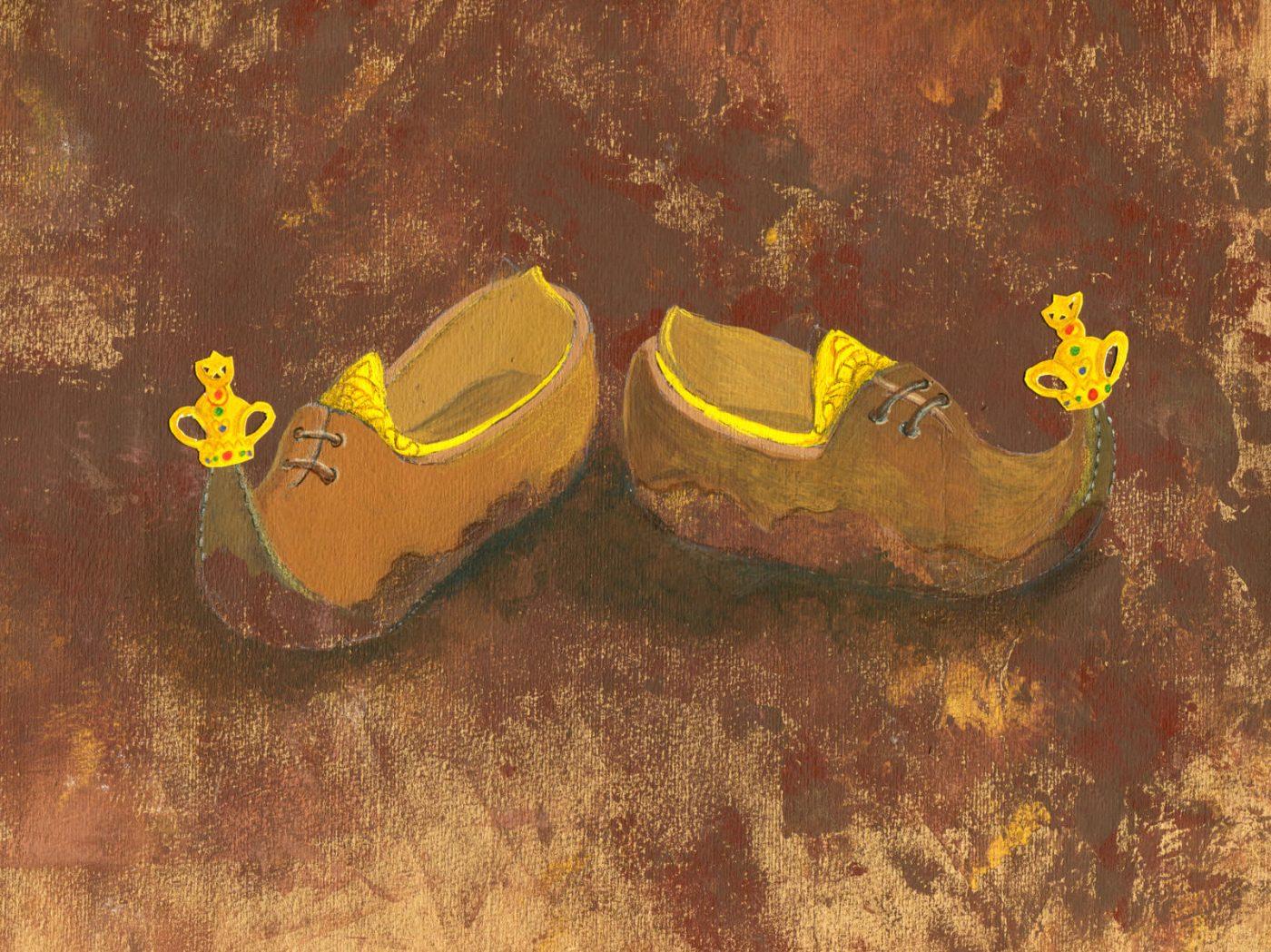 נעליים ספרותיות – נעלי השולטן
