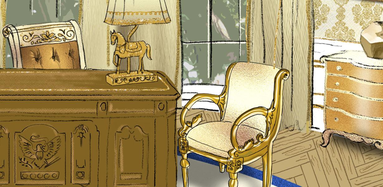 Illustration for Interior Design