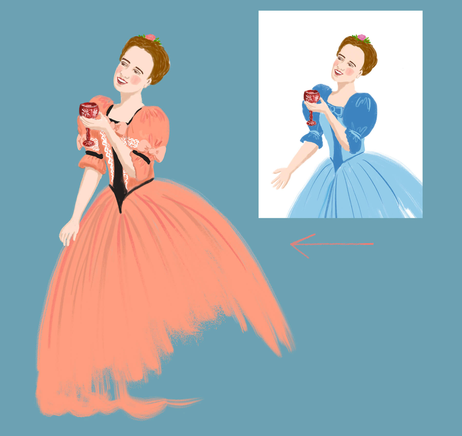 Cinderella_Face&body-drinking_With-backg_min
